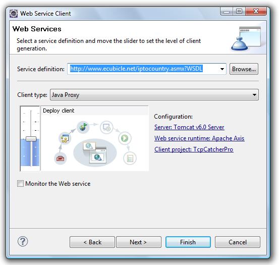 TcpCatcher - WorkShop n°6 : Debugging a web service client program